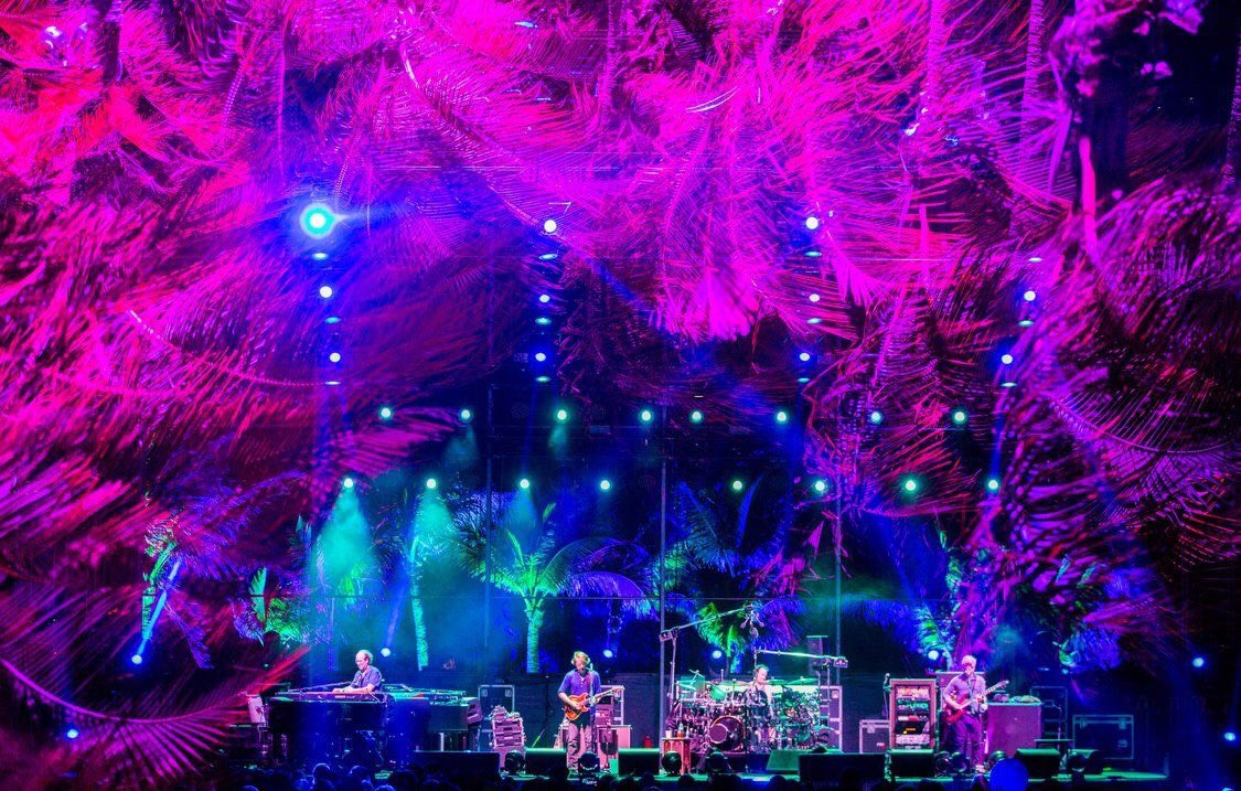 Photo ©  Phish (taken by Patrick Jordan)
